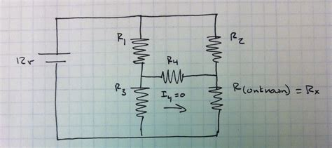 resistor based question homework and exercises calculate for resistors with a bridge physics stack exchange