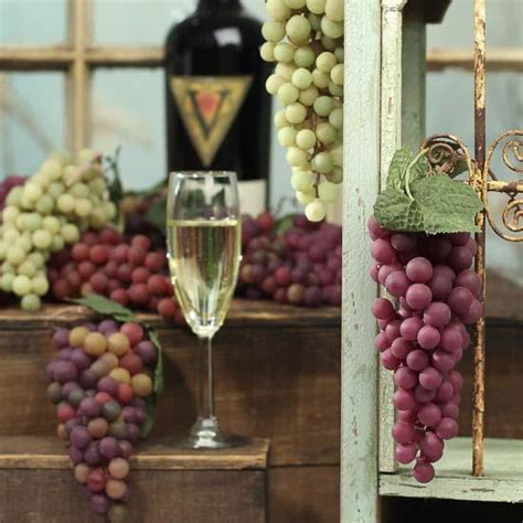 grapes home decor vineyard wreath grapes home decor