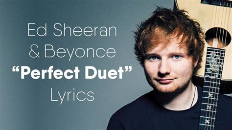ed sheeran ft beyonce perfect the 25 best beyonce songs lyrics ideas on pinterest
