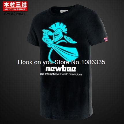 T Shirt Team Hook Dota 2 newbee fashion promotion shop for promotional newbee