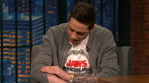 watch pete davidson already regrets his new harry