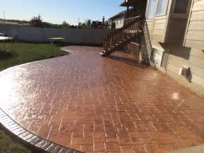 Travertine Backyard Patio Designs Pool Remodeling Wichita Stamped Concrete