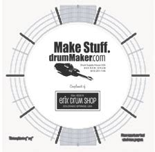 Drum Layout Mat by Free Layout Mat 187 Drummaker