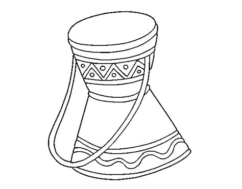 african instruments coloring page african drum coloring page coloringcrew com