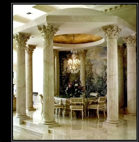 column decorations home house roman pillars column designs decorative pillars for