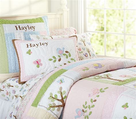 Hayley Quilted Bedding Pottery Barn Kids Hayley Nursery Bedding Set