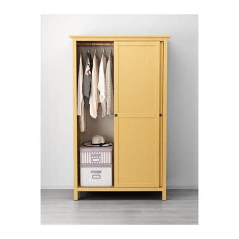 armadio hemnes hemnes guardaroba con 2 ante scorrevoli giallo