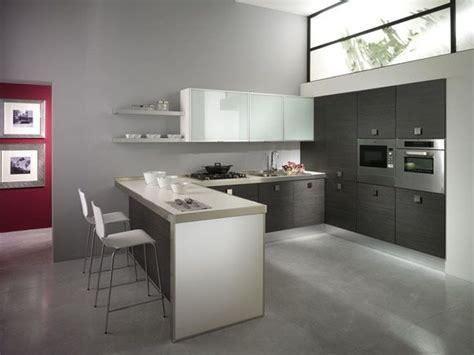 cucine moderne in rovere cucina moderna in rovere grigio cucine