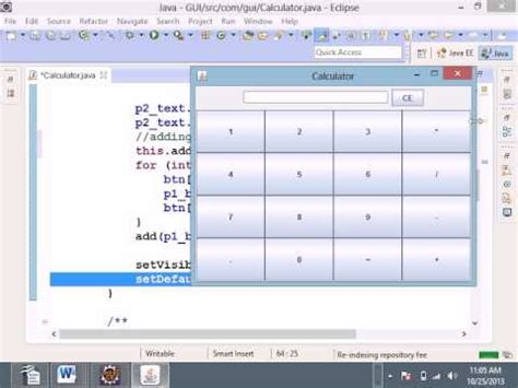 tutorial java netbeans jframe java netbeans tutorial how to create a calculator
