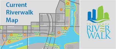 riverwalk map the ta riverwalk city of ta