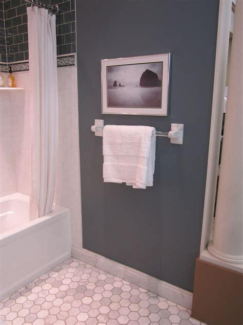 3 carrerra hexagon tile bathroom pinterest