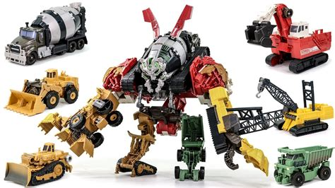 film robot transformer youtube transformers movie 2 rotf supreme construction devastator
