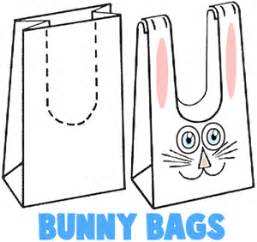 easter bag template easter bunny crafts for ideas to make bunnies with