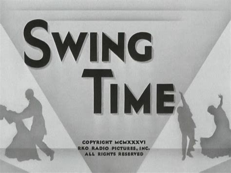 swing time 1936 swing time 1936 george stevens fred astaire ginger