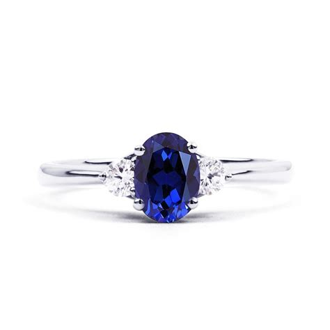 Blue Sapphire Engagement Rings by Paragon Blue Sapphire Engagement Ring Boutique