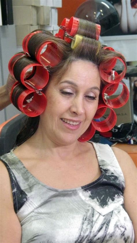 demaled sissies in dresses and hair curlers 17 images about hair rollers and curlers on pinterest