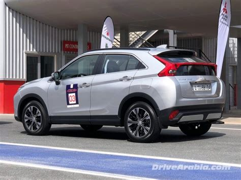 mitsubishi uae drive 2018 mitsubishi eclipse cross in the uae