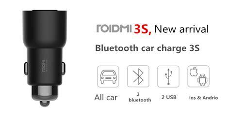 Xiaomi Roidmi 3s 2017 New Wireless Bluetooth Car gearbest asus motorola xiaomi zte samsung pingvin pro