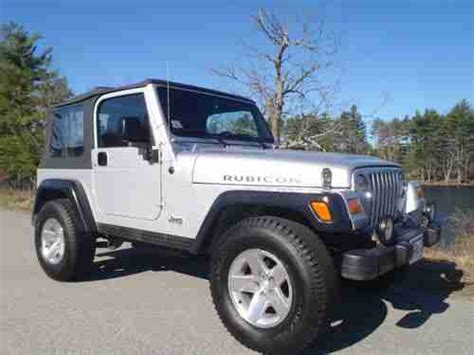 2003 jeep rubicon transmission find used 2003 jeep rubicon wrangler in tyngsboro