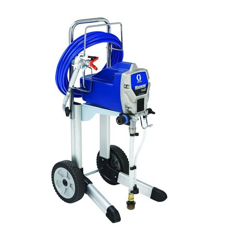 using a home depot paint sprayer graco prox7 airless paint sprayer 261815 the home depot