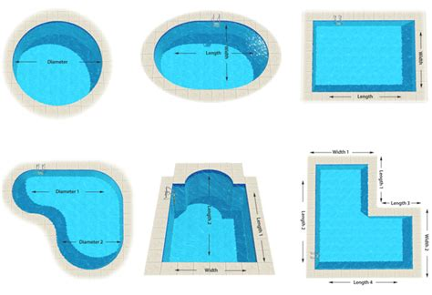 swimming pool shapes swimming pool shapes best 25 pool shapes ideas on