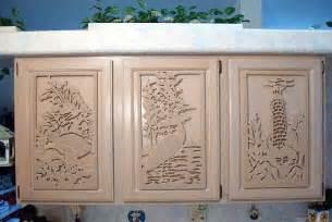 Carved custom cabinet doors 2016
