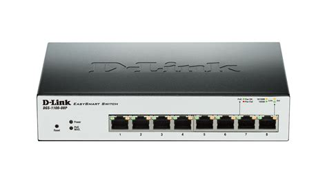 8 switch poe 8 gigabit smart managed poe switch