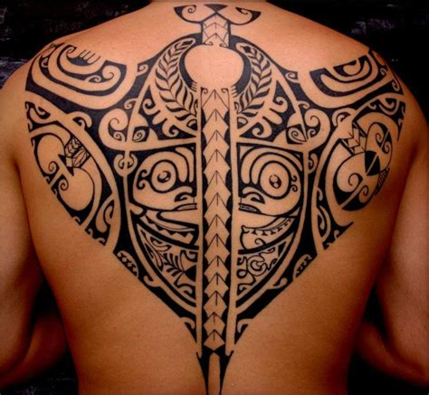 tattoo tribal dos homme tatouage maori dos