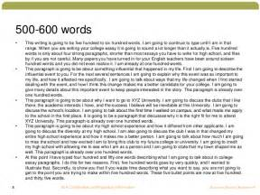 500 Word Essay Scholarship by Writing A College Essay