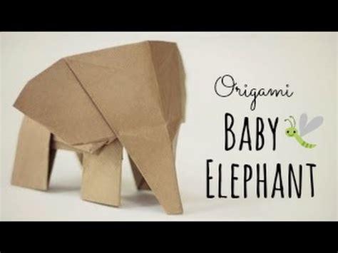 Baby Elephant Origami - how to make an origami baby elephant tadashi mori 7fq