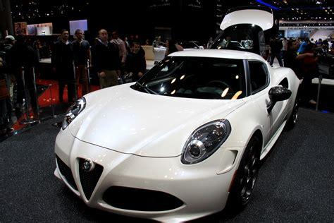 Handmade Sports Car - file quot 14 italian supercar alfa romeo 4c white coupe at