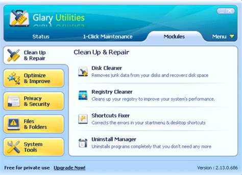 best pc utility software glary utilities the complete suite of best free system