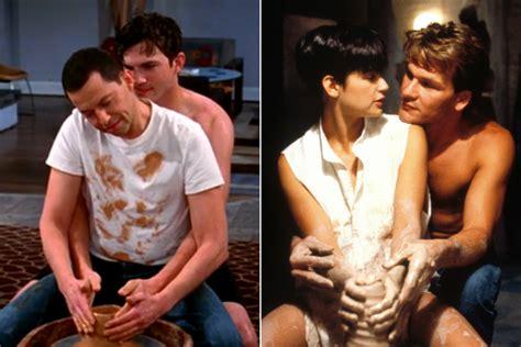 ghost film pottery scene youtube kutcher parodies demi s iconic ghost pottery scene
