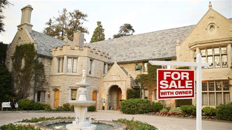 mansions for sale playboy mansion for sale with one tenant for life