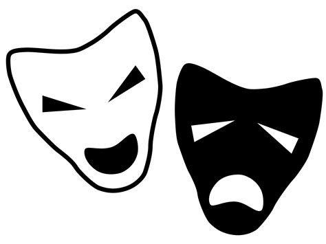 black and white drama drama protea arts