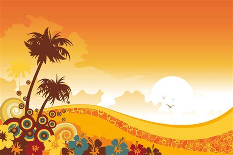 design summer year definition tropical background