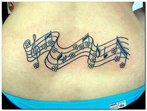 flower tattoo notes music tattoos inspiring tattoos