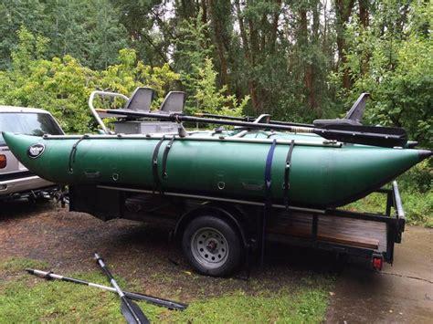 drift boat washington used 2004 fishcraft cataraft powerboat for sale in washington