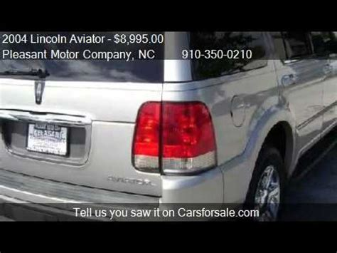 Sale Lu Stop Motor 2004 lincoln aviator awd ultimate for sale in wilmington