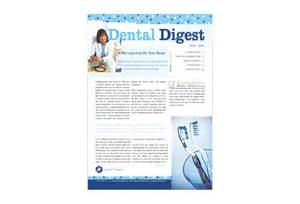 Dental Newsletter Template by Dentistry Dental Office Print Template From Serif