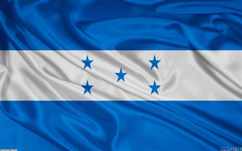 bandera de honduras flag of honduras wallpaper 22911 open walls