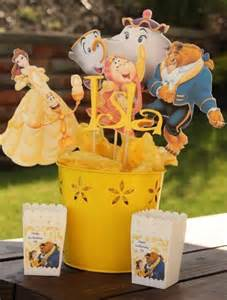 disney princess party centerpiece beauty and the beast party disney party ariel jasmine