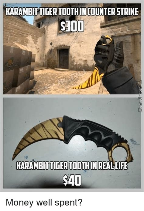 Counter Strike Memes - karambittigertoothin counter strike karambittigertoothin
