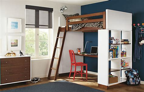 High Bunk Bed With Desk Underneath Loft Beds For Modern Homes 20 Design Ideas That Are Trendy