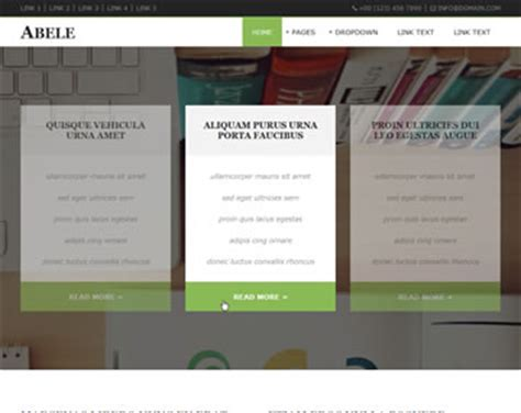 free os templates abele website template free website templates os templates
