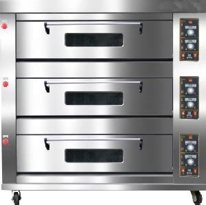 Gas Deck Oven Stainless Hitech 3 Deck 6 Trays Arf 60h 3 deck commercial big gas ovens for sale 3 deck oven gas roasting oven bakery oven price bakery