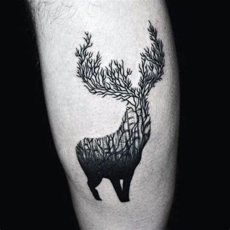 21 men deer tattoo ideas to try styleoholic