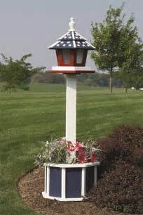 4 painted post for birdfeeder birdhouse or mailbox