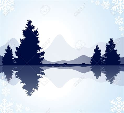 and clipart forest and lake clip cliparts