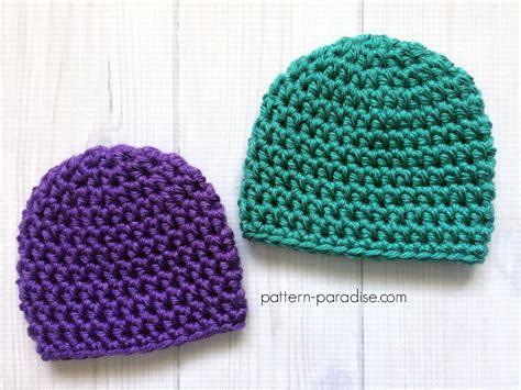 pattern crochet preemie hat free crochet pattern easy preemie hat pattern paradise